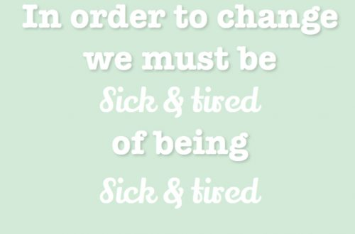 Quote sick&tired